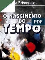 3. o Nascimento Do Tempo (Ilya Prigogine, 1984)