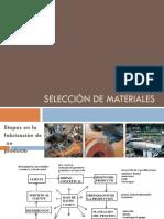 Selección de MaterialesM1r