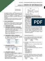 Unidad 01- Orden de Informacion - Copia