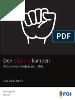 Totalförsvarets Forskningsinstitut Raport Om Extremistiska Grupper