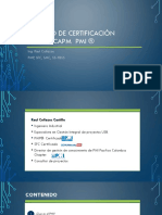 Proceso certificacion PMP - CAPM