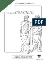 El Pre-Concilio, Fray Alberto Garcia Vieyra OP