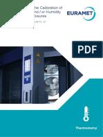 EURAMET-020 Calibration Guide No. 20