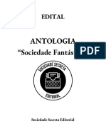 Edital Sociedade Secreta Editorial