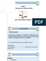 La Prueba - Clases