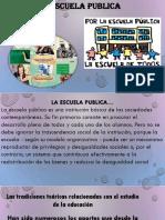 La Escuela Publica