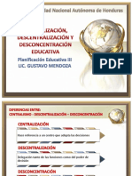 Centralizacion Descentralizacion Desconcentracic3b3n-Educativa
