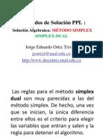 03F SolucionAlgebraicaMetodo SIMPLEX DUAL ProgramacionLineal JorgeOrtiz