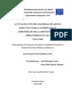 Texto Guía Para El Curso de Obras Hidráulicas