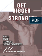 Get Bigger and Stronger _ Book 1_ Goals, Technique, Loading Parameters - Poliquin Group & Kim Goss