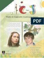 Prueba de Imaginacion Creativa Para Jovenes PDF