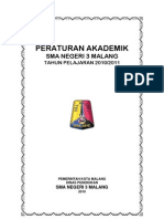 Cover Peraturan Akademik Sman 3 Malang