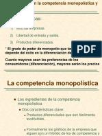 Intervencion Del Estado en Los Monopolios y Competencia Monopolística.