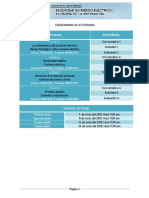 Cronograma de Actividades SRE