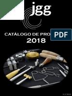 Catalogo de Produtos JGG - 2018 - F