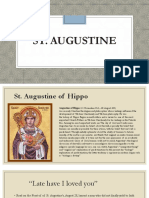 St. Augustine Life and Works