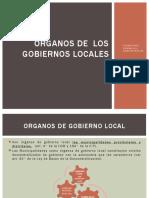 5. Organos de Los Gobiernos Municipales
