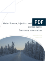 Water Source Injection and Disposal Service Wells Summary November Release 2014