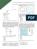 D7-Interpretar Geometricamente Os Coeficientes Da Equação de Uma Reta.