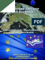 Systeme educatif roumain