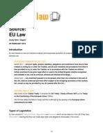 2 EU Source of UK Constitution