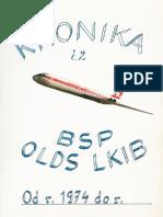 Kronika Brigády Socialistickej Práce na Oblastnom Riadení Letovej Prevádzky Bratislava