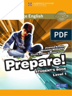 Cambridge English Prepare! Level 1 SB