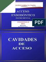 Acceso endodontico