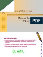 Estequiometria El MOL (1)