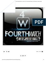 4th Watch With Justen Faull Strange Por..