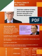 Bill Gates - Taller de Liderazgo