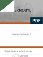 Chernobyl presentation