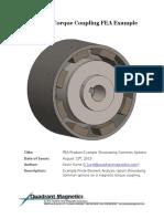 Quadrant Magnetics FEA Example