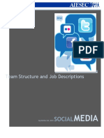 Social Media Team Structure and JDs