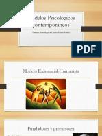 Modelos Psicológicos Contemporáneos Paloma