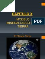 CAP. X.- Modelo Mineralogico Tierra.