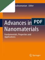 Ganesh Balasubramanian (Eds.)- Advances in Nanomaterials_ Fundamentals, Properties and Applications-Springer International Publishing (2018)