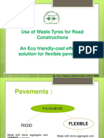 3.3 Use of Waste Tyres for Road Construction