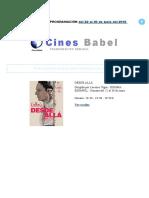 Cines Babel PROGRAMACIÓN del 22 al 30 de junio del 2016.doc
