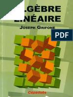 Algèbre Linéaire Par joseph grifone