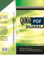 QAWAID FIQHIYYAH (MUAMALAH)
