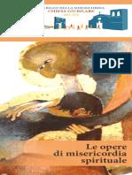 Opuscolo Opere Di Misericordia Spirituali