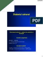 Diabetul Zaharat - AMG Sem. II 2017-2018