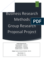 business research method group report