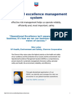 Operational Excellence Oems