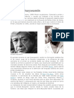 Biografía Oswaldo Guayasamín