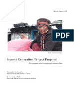 Income Generation Project Proposal
