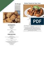 KFC Hotshots and Gravy Ala Riceype