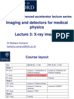 Lecture 3 X Ray Imaging