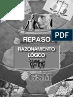 Raz Logico - Repaso i - Semana 07